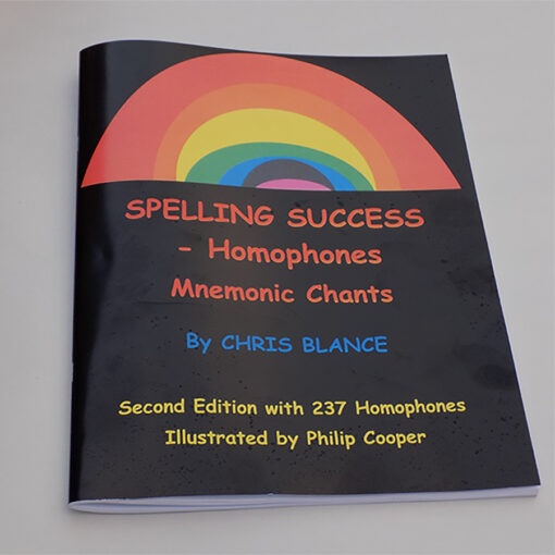 Spelling Success Homophones Front Cover Image for the Product Page